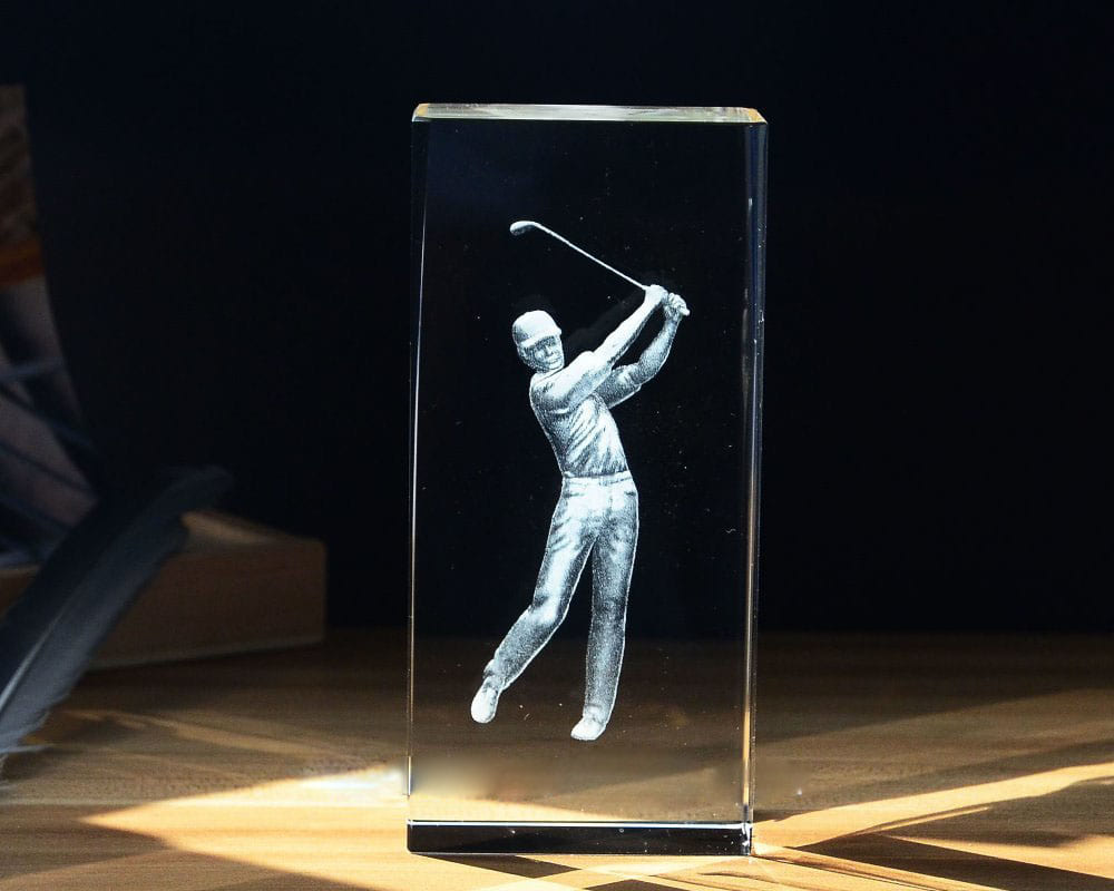 Cup golf pha lê 07