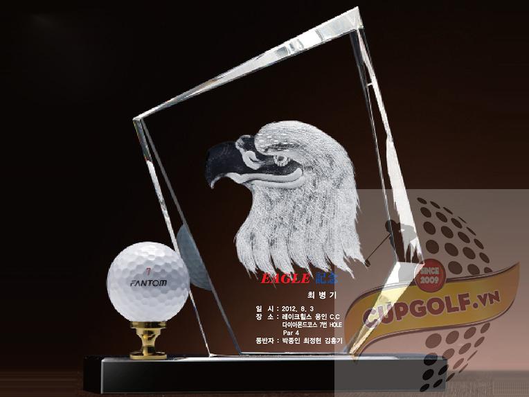 Kỷ niệm chương Golf pha lê 24