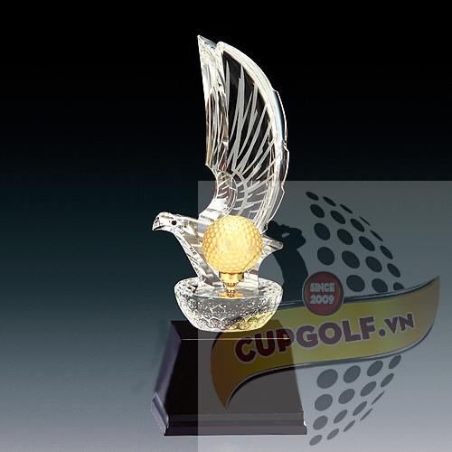 Cup golf pha lê 21