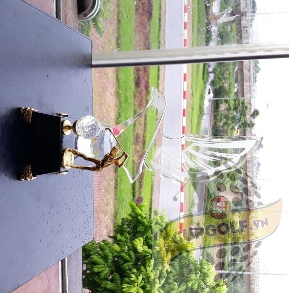 Cup golf pha lê 5