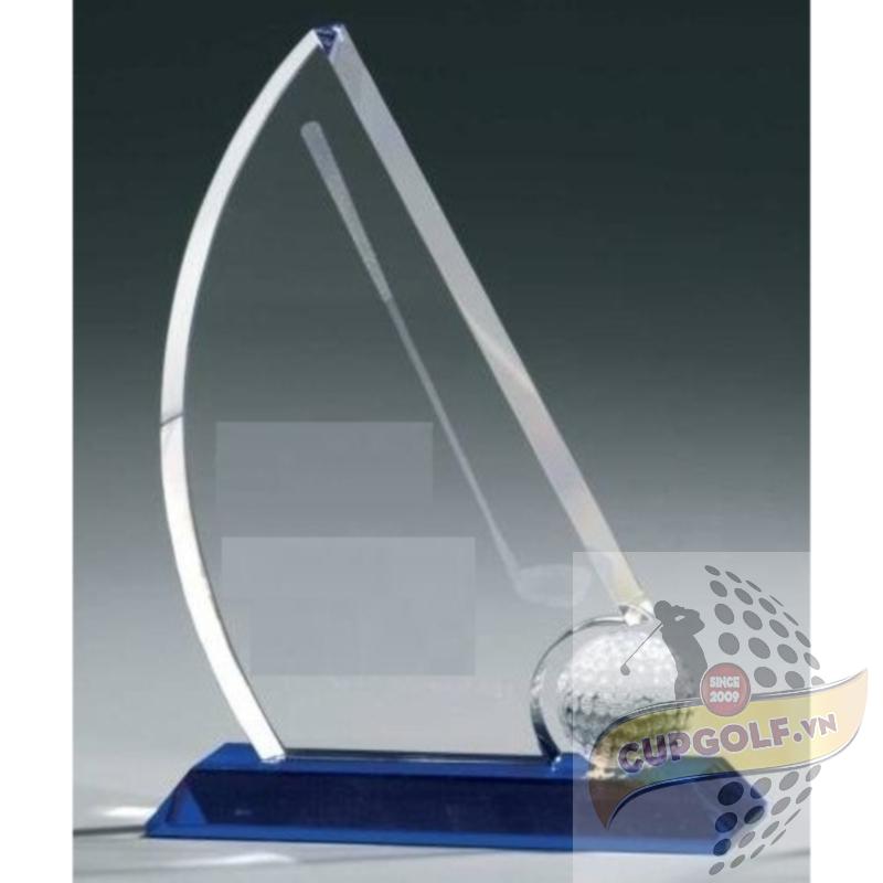 Kỷ niệm chương golf pha lê 5