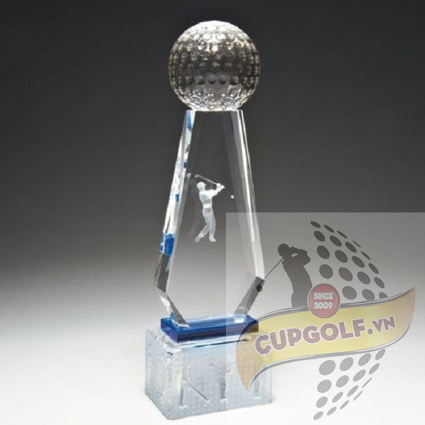 Cup golf pha lê 76