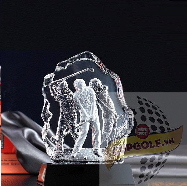Kỷ niệm chương golf pha lê 9