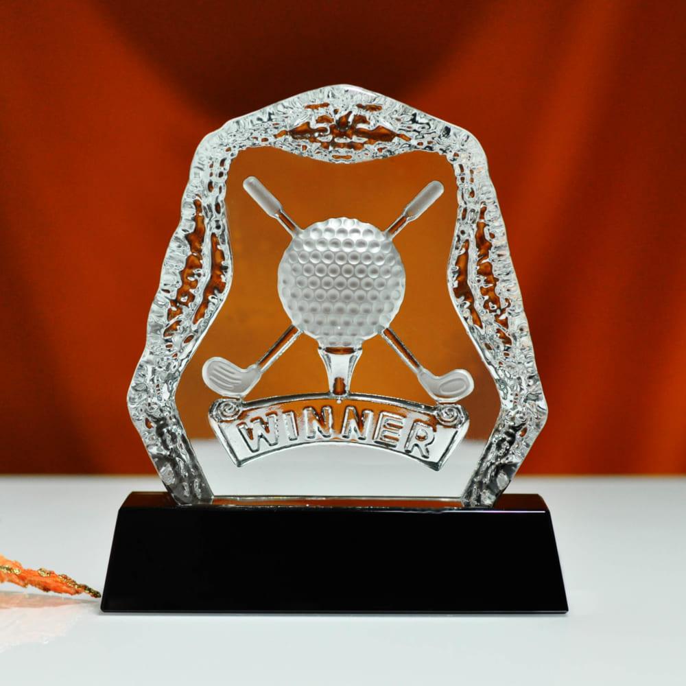 Kỷ niệm chương golf pha lê 15