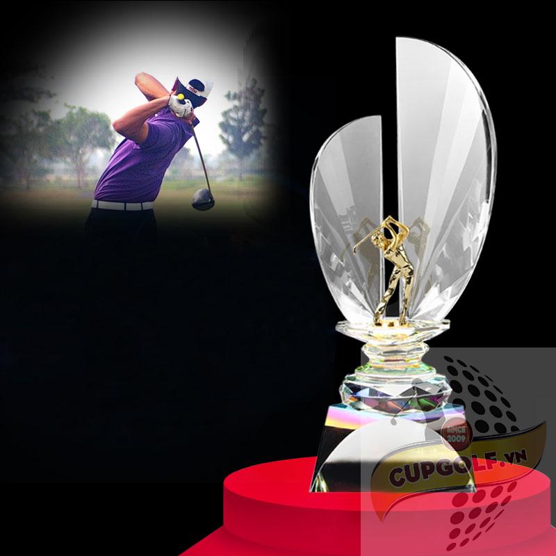 Cup golf pha lê 47