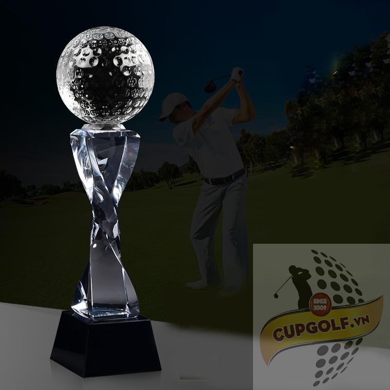 Cup golf pha lê 75