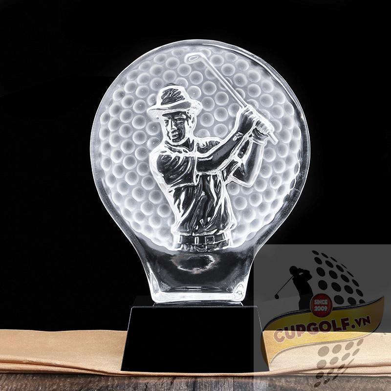 Kỷ niệm chương golf pha lê 14