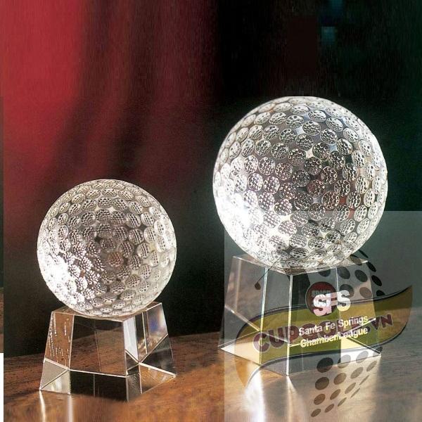 Bộ Cup golf pha lê 80