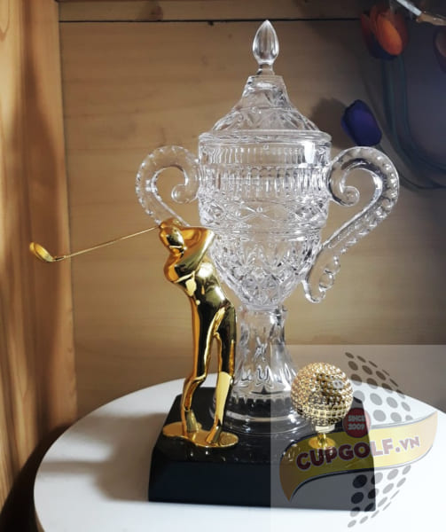 Cup golf pha lê 26