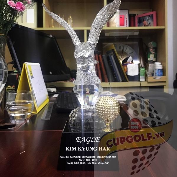 Cup golf pha lê 58