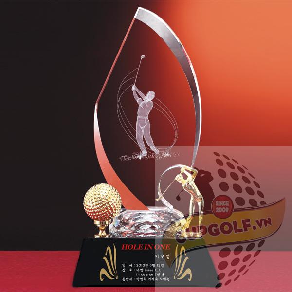 Cup golf pha lê 98