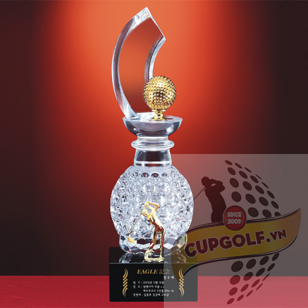 Cup golf pha lê 102