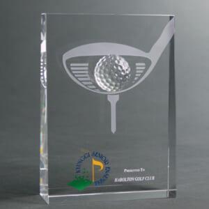 Kỷ niệm chương pha lê golf 33